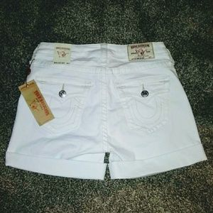 New With Tags Women's True Religion Shorts
